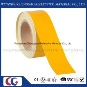 Yellow Self-Adhesive Reflective Warning Tape for Truck (C1300-OY) pictures & photos