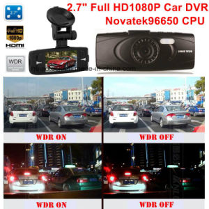 "Cheap 2.7""FHD1080p Car DVR with Ntk96650 Car Digital Video Recorder, 3.0m Aptina Ar0330 Car Camera, Parking Control,Night Vision,Motion Dectection Car Black Box pictures & photos"