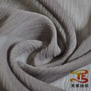50d 100% Polyester Crepe Fabric Polyester Dress Fabric Chiffon Fabric for Women Dress pictures & photos