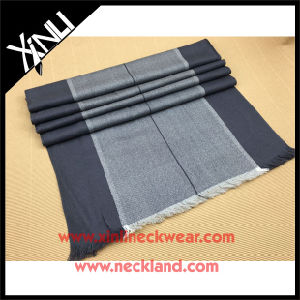 High Quality Wool Woven Jacquard Scarf pictures & photos