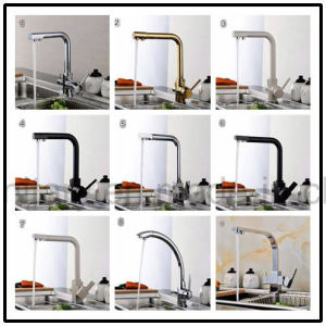 3 Function Water Filter System Stone Surface Kitchen Faucet pictures & photos