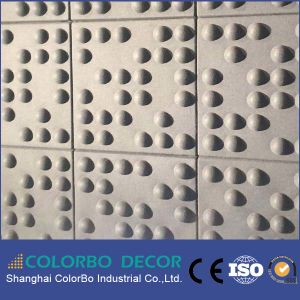 Interior Decoration New Material Polyester Fiber Acoustic Wall Panel pictures & photos
