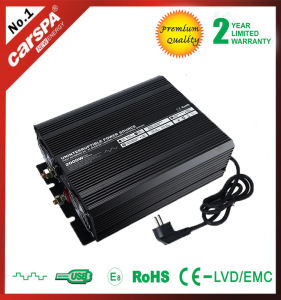 High Work 12V DC Backup Power Inverter With Charger UPS 2000 Watt pictures & photos
