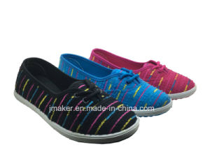 Comfortable Woman Canvas Sneaker (J2613-L)