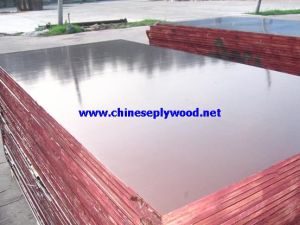 Brown Film Faced Plywood 15mm From Linyi (HT-FFP-026)