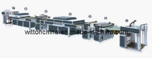 Sdsg-1200d Automatic UV Coating Machine (Three Coaters)