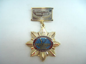 3D Zinc Alloy Gold Plating Medals