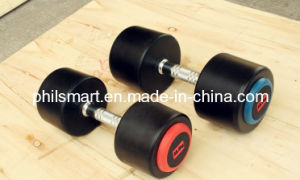Hotsell Rubber Coated Dumbbells pictures & photos