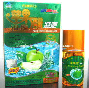 Mbl Apple Vinegar Losing Weight Slimming Capsule (CS015-AV) pictures & photos