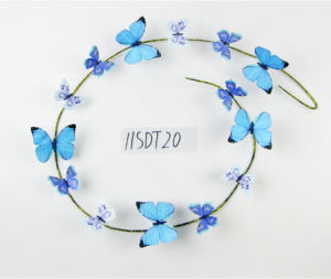Spring Paper Butterfly Artificial Garland Decoration