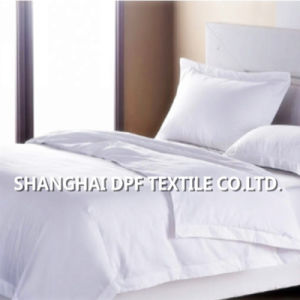100% Cotton White Plain Bedding Set (DPF201609) pictures & photos