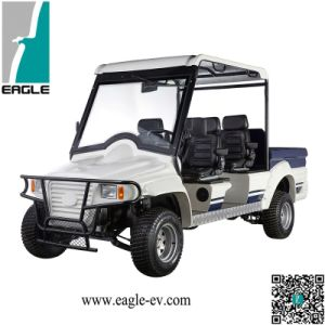 4 Seats Utility Vehicle, 5 Speed with Gear Box, Manual Drive, Powerful Motor, Big Tires pictures & photos