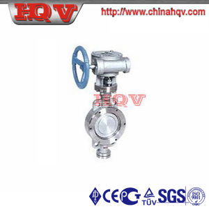 Water Type Metal to Metal Sealing Butterfly Valve