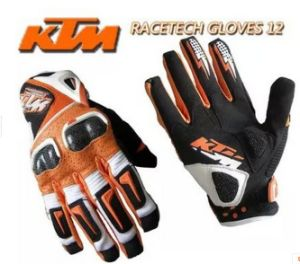 Ktm Gloves Motorcycle Glove Racer Cycling Glove Outdoor Leather Glove