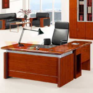 Simple and Modern Popular Design Wholesale Office Desk with Cabinet (HY-D0718) pictures & photos