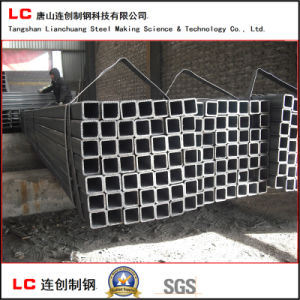 30mmx30mm Black Square Steel Pipe for Structure Building pictures & photos