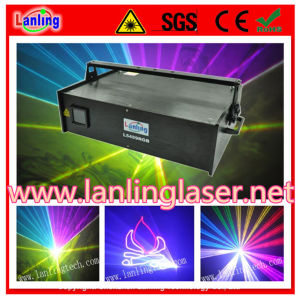 5W RGB 25kpss Ilda Animation Laser Show System pictures & photos