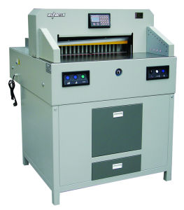 Quality Big Program Controal Paper Cutter (7208HD) pictures & photos