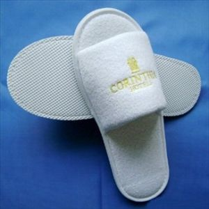 75ad504721de1 China Hotel Disposable Cotton Terry Towel Slippers with Anti-Slip ...
