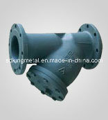 Cast Iron ANSI 125 Flanged Ends Y-Type Strainer pictures & photos