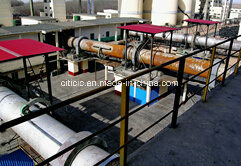 Rotary Kiln in Cement Production Line pictures & photos