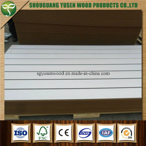 Melamine Slotted Board, High Quality Slat Wall Board pictures & photos