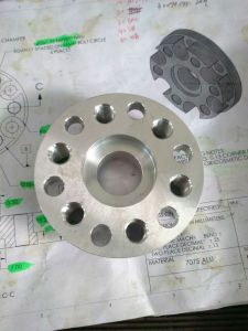 Customized CNC Lathe Turning Parts with Threads