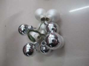 Plain Custom Made Christmas Glass Ball pictures & photos