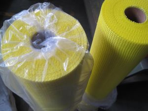 Self Adhesive Fiberglass Mesh Used in The Floor Heating System pictures & photos