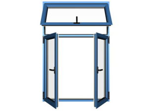 Kga-618 Inward Window with Top Hung