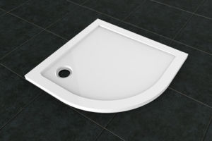 Quadrant Shower Tray with Modern Sector Shape (LT-S80) pictures & photos
