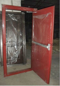 Steel Fire Rated Door with Door Closer and Panic Bar, Price List Attached pictures & photos