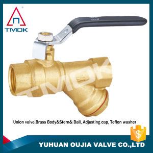 High Quality Professional Supplier of Brass Ball Valve with Strainer
