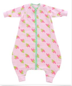 China Cotton Muslin Print Sleeping Bag Baby Clothes Baby Wear