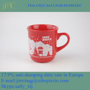 Wholesale Eco-Friendly Color Glazed Ceramic Coffee Cup Made in China