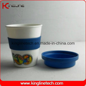 350ml Silicone Coffee Cup (KL-CP010) pictures & photos