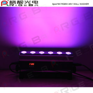 6PCS RGBW LED Stage LED Wall Washer pictures & photos