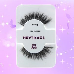 Mink Regular Cross Section Natural Horsehair False Eyelashes