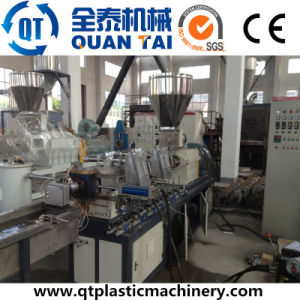 High Quality Twin Screw Masterbatch Granulator Extrusion Machine pictures & photos