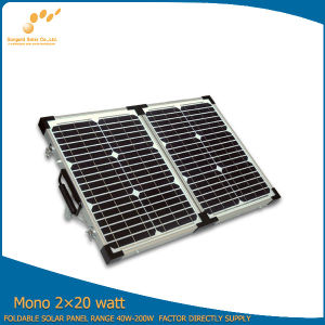 40W Canvas Fold Solar Panels for Sale