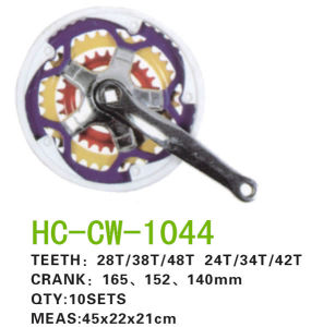 Colorful Chainwheel Crank (CW-1044) pictures & photos