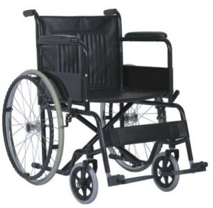 Foldbale / Manual / Power Coating Steel Wheelchair pictures & photos