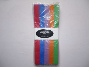 Assorted Rainbow Coloured Tissue Paper (CPA-007)