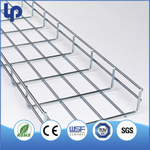 China Stainless Steel 304 316L Wire Mesh Basket Cable Tray Trunking ...