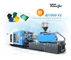 Variable Pump Plastic Injection Molding Machine (BJ1000V6)