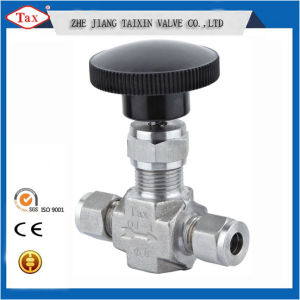 Ferrule/ Female Connection Ss316 High Pressure 6000psi Needle Valve