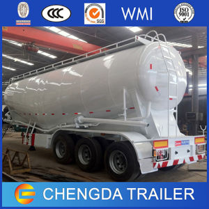 Chinese 3 Axles 45cbm Bulk Cement Silo Tanker Trailer pictures & photos