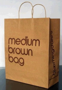 Kraft Paper Bag/Shopping Bag with Logo Printing pictures & photos
