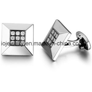 Custom Clothing Accessories 316 Stainless Steel Cufflink pictures & photos
