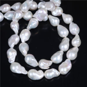 13*16mm Pear Shape Irregular Loose Large Baroque Pearl Strand pictures & photos